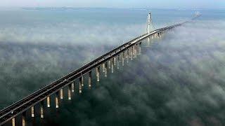 Ты такое Видел ? Китайцы Творят ЧУДЕСА! Мост в Ханчжоу! Дискавери документальные фильмы