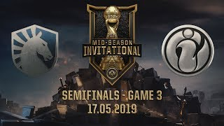 IG vs TL [MSI 2019][17.05.2019][Semifinals][Game 3]