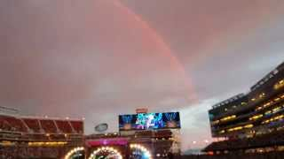 Rainbow Makers Make A Rainbow During Viola Lee (6/27/15), Full Arch