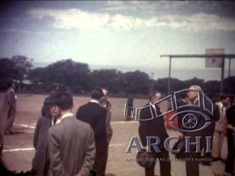 Primera Piedra de la Ciudad Universitaria de San Marcos de Lima - 12 de mayo de 1951