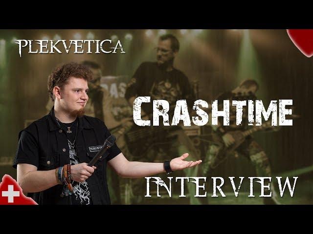 [ Interview ] Crashtime ( 2018 ) | Heavy Metal