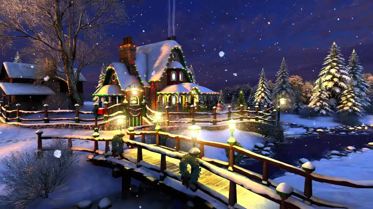 White Christmas 3D Live Wallpaper and Screensaver - YouTube