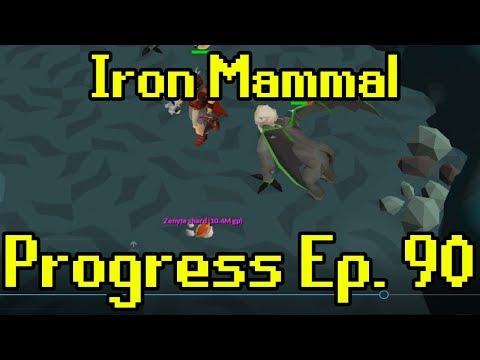 Oldschool Runescape - 2007 Iron Man Progress Ep. 90 | Iron Mammal