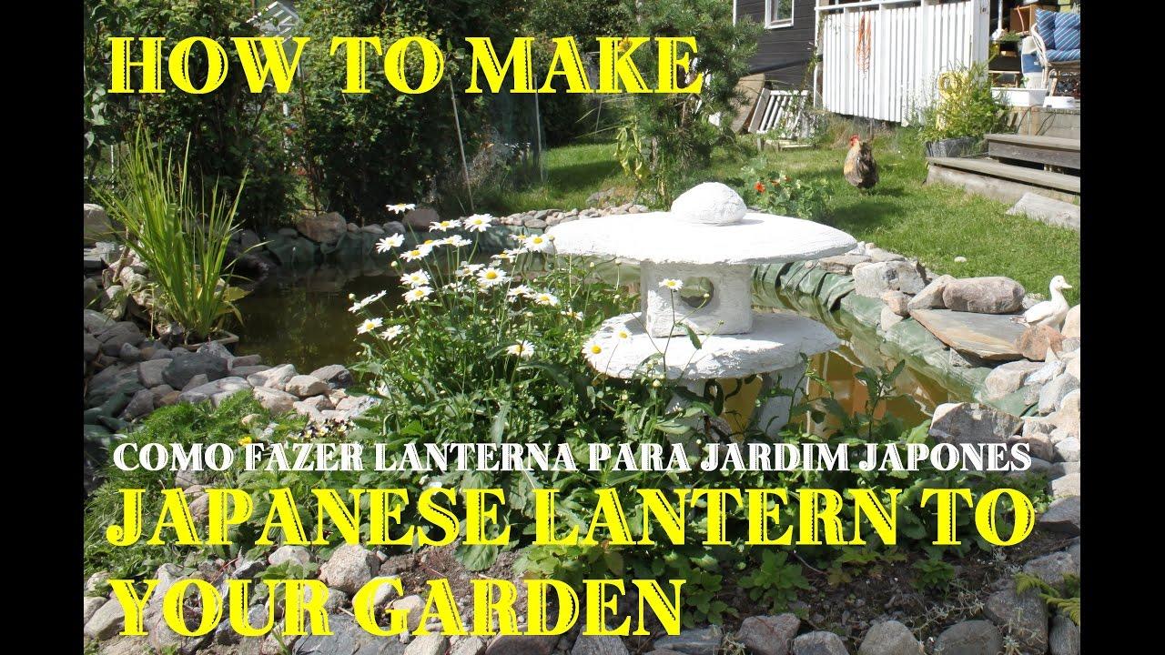 How To Make Anese Lantern For Garden You