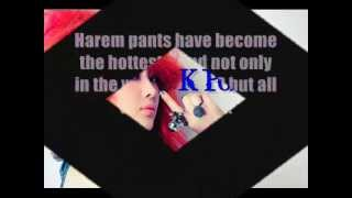 Steal The KPOP Style #5: EXO-K's Kai Harem Pants Thumbnail