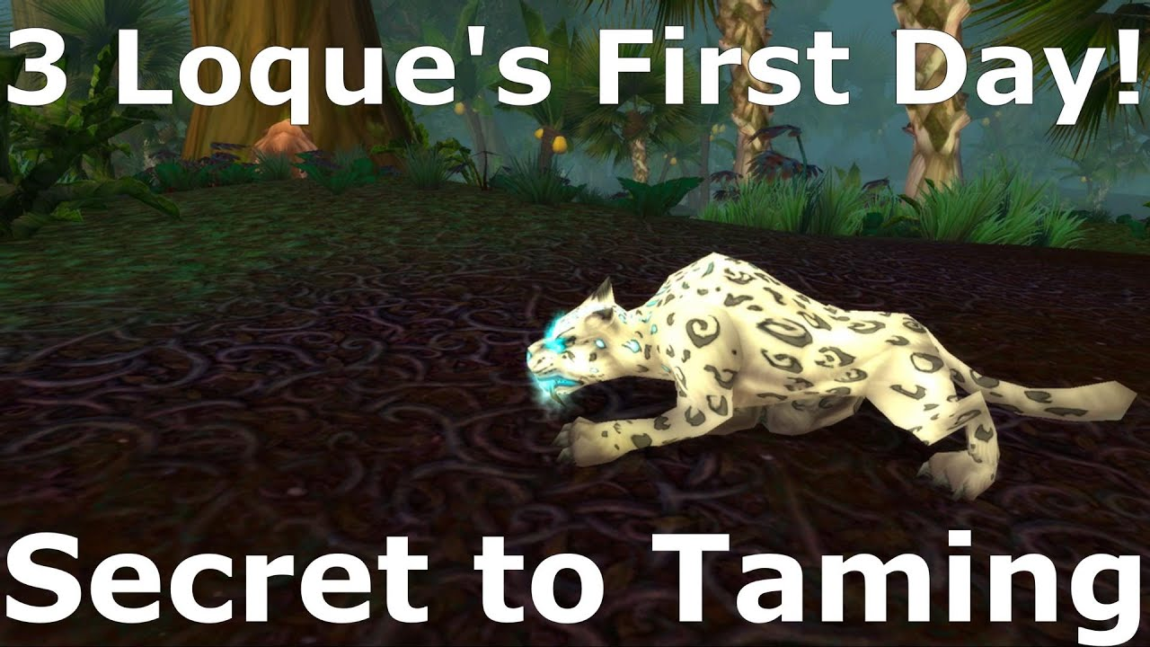 Download WOW - Easy Way To Tame Loque'Nahak - 3 Times on the First day Shadowlands