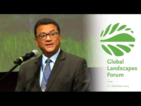 Juan Manuel Benites Ramos – Opening Address: Negotiating landscapes for multiple benefits