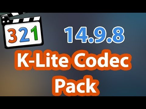 Download K-Lite Codec Pack Version 14.9.8 Full [2020]✅