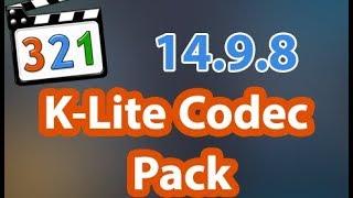 download K-Lite Codec Pack Version 14.9.8 Full 2020