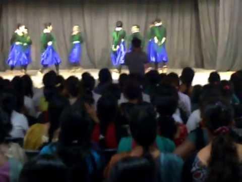 the peacock dance navodaya medical college raichur regale 2013