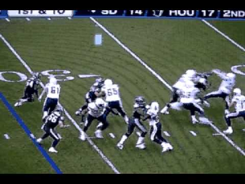 Texans Bull Blog - Mario Williams Gets Dominated By A TE All Day - SD @ HOU 110710.avi