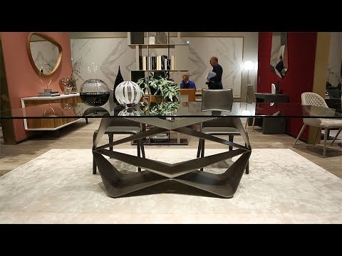Transformable and extendable tables, modern chairs, design
