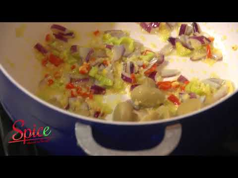 Spice Island in the pot S1 E1 Pt 2 - Jasmine Rice & Veggies S/W Orange Chilli Chicken.
