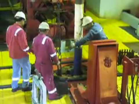 IODP Expedition 320 -- First Drill Bit to the Seafloor