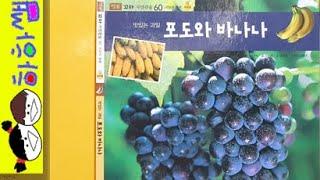 [ 하하쌤 ] 56 / 맛있는 과일 포도와 바나나 / …