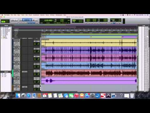 Elastic Audio in Protools: Tempo change