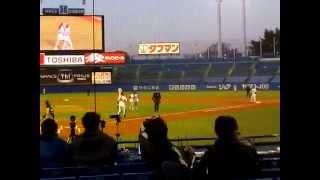 イースタンリーグ 東京ヤクルト-北海道日本ハム1回戦(明治神宮野球場...