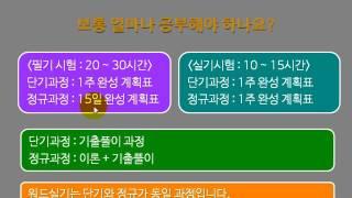 2017년 대비 워드1급필기 시험소개와 학습방법(단기)
