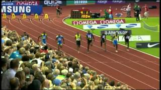 Tyson Gay takes down Usain Bolt - Universal Sports