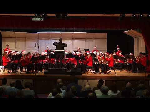 Hadley Junior High School 2017 8th Grade Winter Band Concert - Period 7