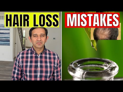 HAIR LOSS | HERBAL REMEDY | 6 MISTAKES AND HOW TO FIX IT?