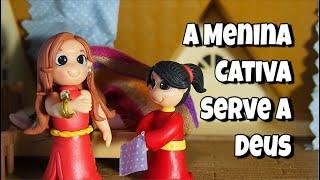 A Menina Cativa Serve a Deus, Jardim da Infância, Lição 6, III Trimestre, Ano B, 10/08/19 à 16/08/19