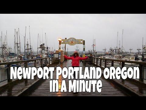 NewPort Portland Oregon USA in a Minute #EarthintheUSAadventure