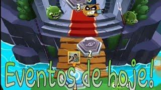 Angry Birds POP!-Jogando os eventos!