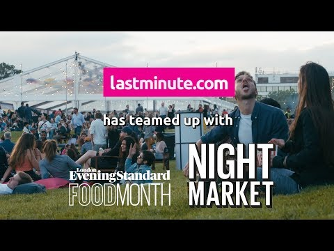 London's Latest Food Night Market
