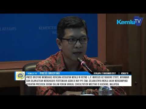 Press Briefing: Kunjungan Kerja Menlu RI ke Myanmar dan Malaysia