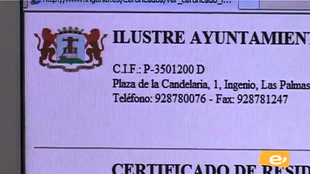 CERTIFICADO DE RESIDENCIA ONLINE - YouTube