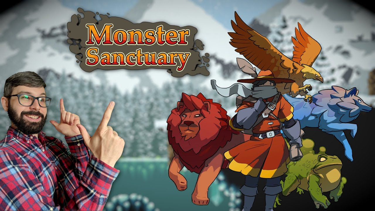Monster Sanctuary Review | Metroidvania with pet battles (Video Game Video Review)