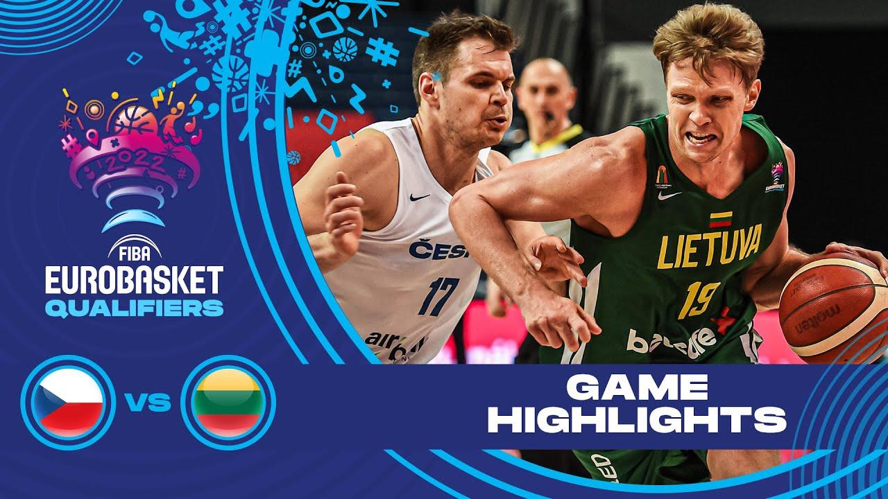 Czech Republic - Lithuania | Highlights