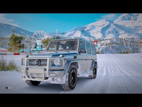 Forza Horizon 3| 2013 MERCEDES-BENZ G 65 AMG [Blizzard Mountain]
