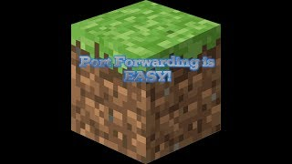 Port Forwarding is EASY! | Minecraft Server Setup | Port Forwarding |