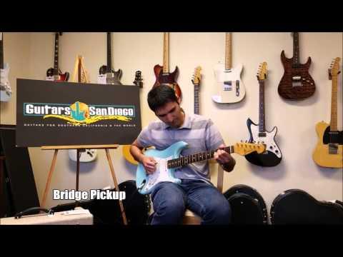 Grosh Guitars NOS Retro Daphne Blue