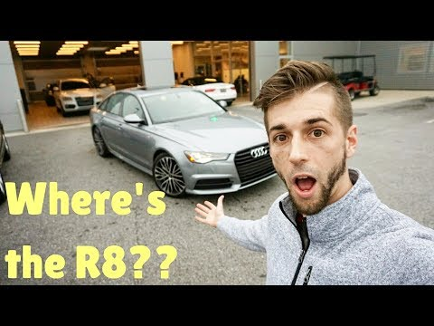 24 HOURS with the 2018 Audi A6!