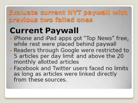 The New York Times Paywall v1
