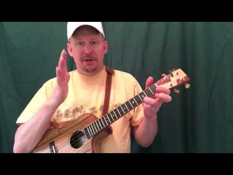 MUJ: In The Summertime - Mungo Jerry (ukulele tutorial)