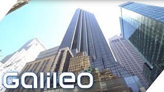 Das versteckt sich hinter der Fassade des Trump Towers | Galileo | ProSieben
