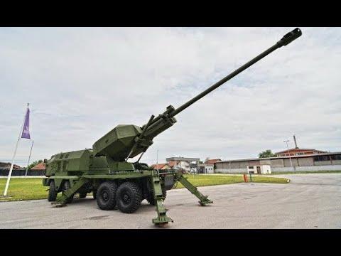 Samohodna haubica MGS-25 Aleksandar (NORA B-52K2) - Self propelled Howitzer MGS-25