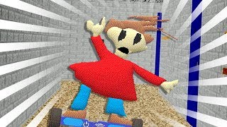 Playtime Has A HoverBoard - Baldi's Basics Mod