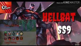 ROV : Hellbat Batman (SoloRank ss9) รูนใต้คลิปนะงับ