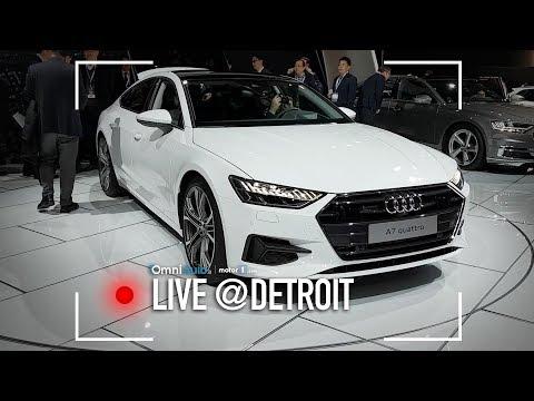 Audi A7 Sportback: non la classica berlina, insomma | Salone di Detroit 2018