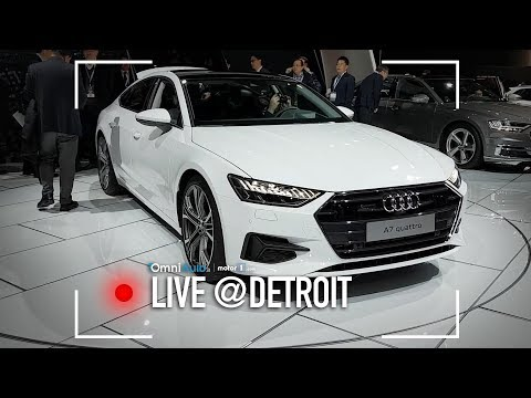 Audi A7 Sportback: non la classica berlina, insomma   Salone di Detroit 2018