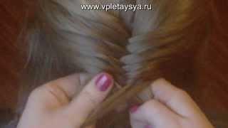 Плетение колоска(Больше видео уроков http://vpletaysya.ru., 2011-05-28T13:52:04.000Z)