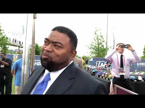 Marty Jacobs Josh Jacobs Father Interview At 2019 NFL Draft Red Carpet
