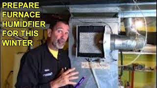 Furnace Flow Through Humidifier, Trickle Pad Operation & Maintenance
