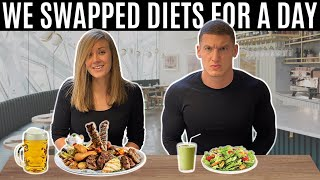 I swapped diets with my sister-in-law for a day and this is what happened...