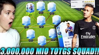 FIFA 18: MEIN KRASSES 3.000.000 COINS TOTGS TEAM😱🔥😈 - FT NEYMAR TEAM OF THE GROUP STAGE!